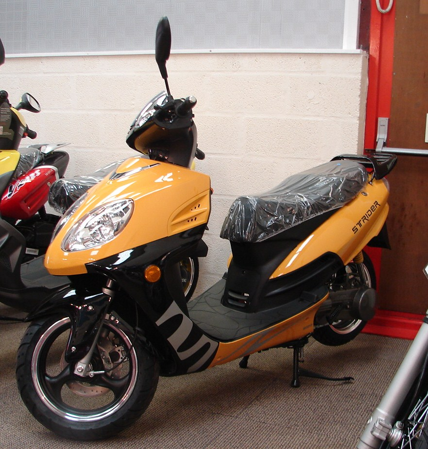 Insurance Quote For Motorcycle: The Motorbike Shop Pulse Strider 125cc